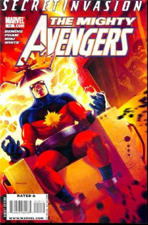 Mighty Avengers #19 (2008) Secret Invasion Marvel comic book